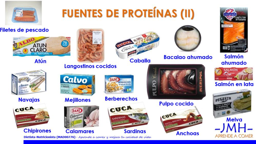 Fuentes de proteínas 2